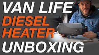 VanLife Chinese Diesel Heater Unboxing - Living The Van Life
