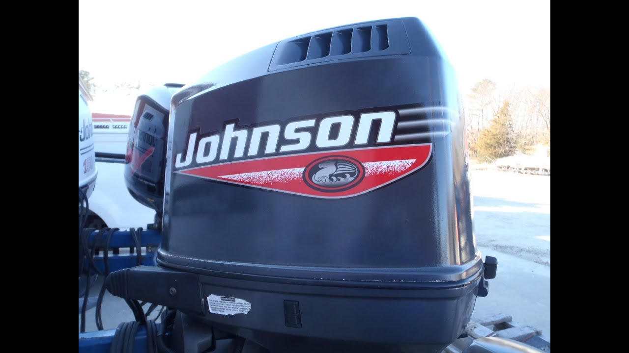 6M3C43 Used 1999 Johnson J175PXEES 175HP 2-Stroke Outboard Boat Motor 25
