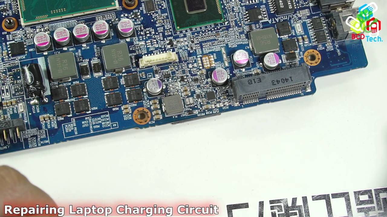 Repairing Laptop Charging Circuit Youtube Simple Battery Charger