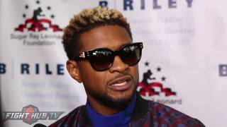 "USHER TELLS MEDIA ""YOU NEED TO GIVE MORE ATTENTION TO TERENCE CRAWFORD"""