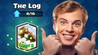 Clash Royale - THE LOG! Legendary Log Deck