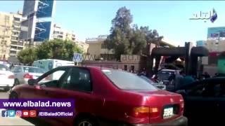 زحام أمام بنك الإسكان بعباس العقاد لحجز شقق الرحاب..فيديو