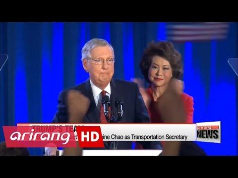 U.S. President-elect Trump picks health, transport chiefs for new cabinet