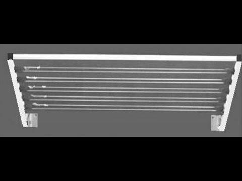 מדהים מתלה מתכוונן עוז מתקני כביסה 03-5758896 - YouTube EA-14