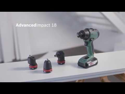 Bosch stellt vor: Der Akku-Schlagbohrschrauber AdvancedImpact 18