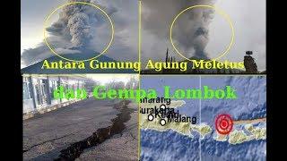 Download Video Gunung Agung Meletus dan Gempa Bumi Indonesia MP3 3GP MP4