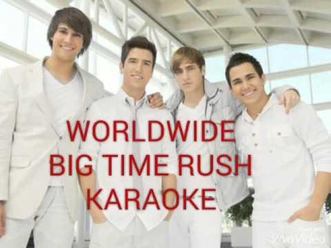 "Big Time Rush ""WORLDWIDE"" Karaoke"
