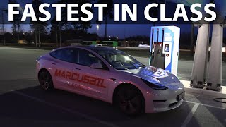 2021 Tesla Model 3 SR+ 90-10 % acceleration test