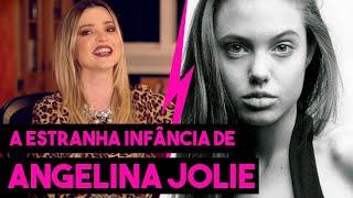 A ESTRANHA INFNCIA DE ANGELINA JOLIE - HOLLYWOODOC