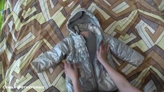 Как сложить куртку, толстовку на хранение// Семья Фетистовых