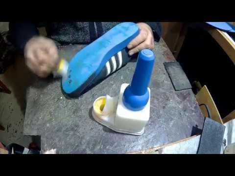 Ремонт кроссовок установка профилактики