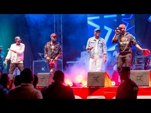 Tough Gangz full performance muri East African Party 2018
