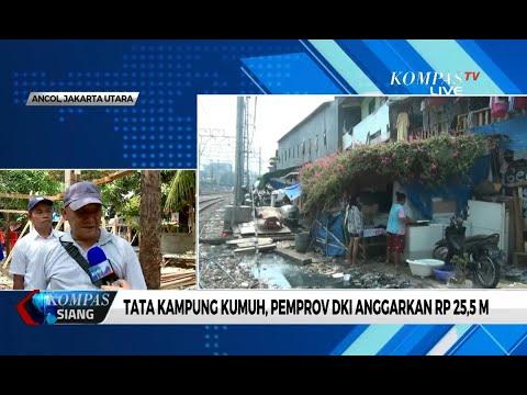 Tata Kampung Kumuh, Pemprov DKI Jakarta Anggarkan Rp 25,5 M