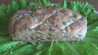Мясной рулет по-американски или мясной хлеб по-русски. Знаменитый meatloaf #domavkusno.