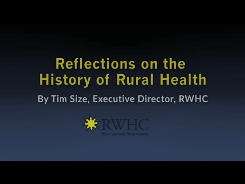 Reflections on the History of Rural Health