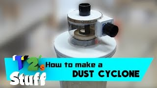 Dust Cyclone Separator // How To (Plans Available)