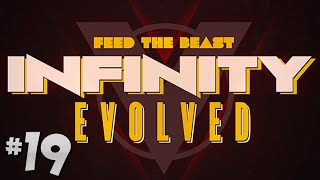 FTB Infinity Evolved - Ep.19 - RF to EU & Nuclear Uranium!