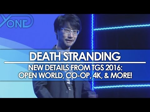 Death Stranding - New Details from TGS 2016: Open World, Co-Op, 4K, & More!