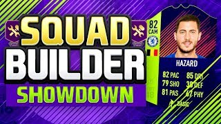 FIFA 18 SQUAD BUILDER SHOWDOWN!!! CHEAP PTG HAZARD?!! PTG HAZARD Vs AJ3