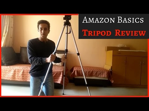 official photos e8837 e28e6 Amazon Basics 60 inch Tripod Unboxing and Review! Budget Friendly ...
