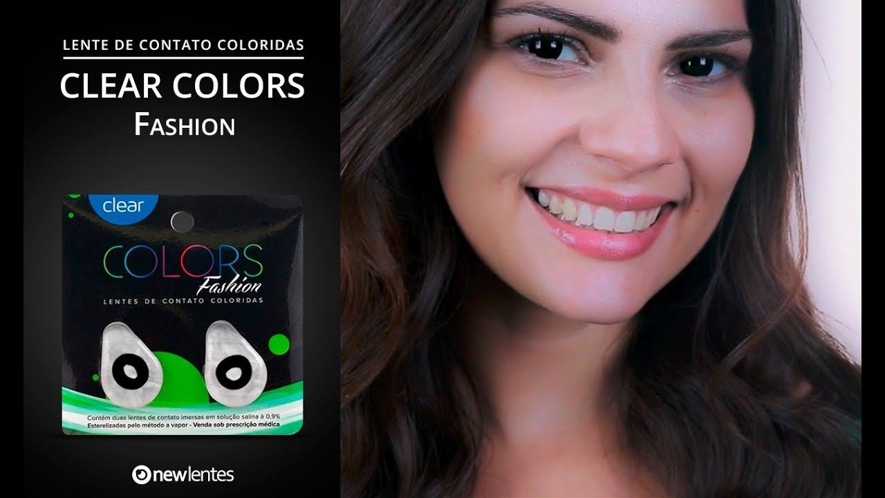 b0223a747 Lentes colorida Clear Colors Fashion | newlentes