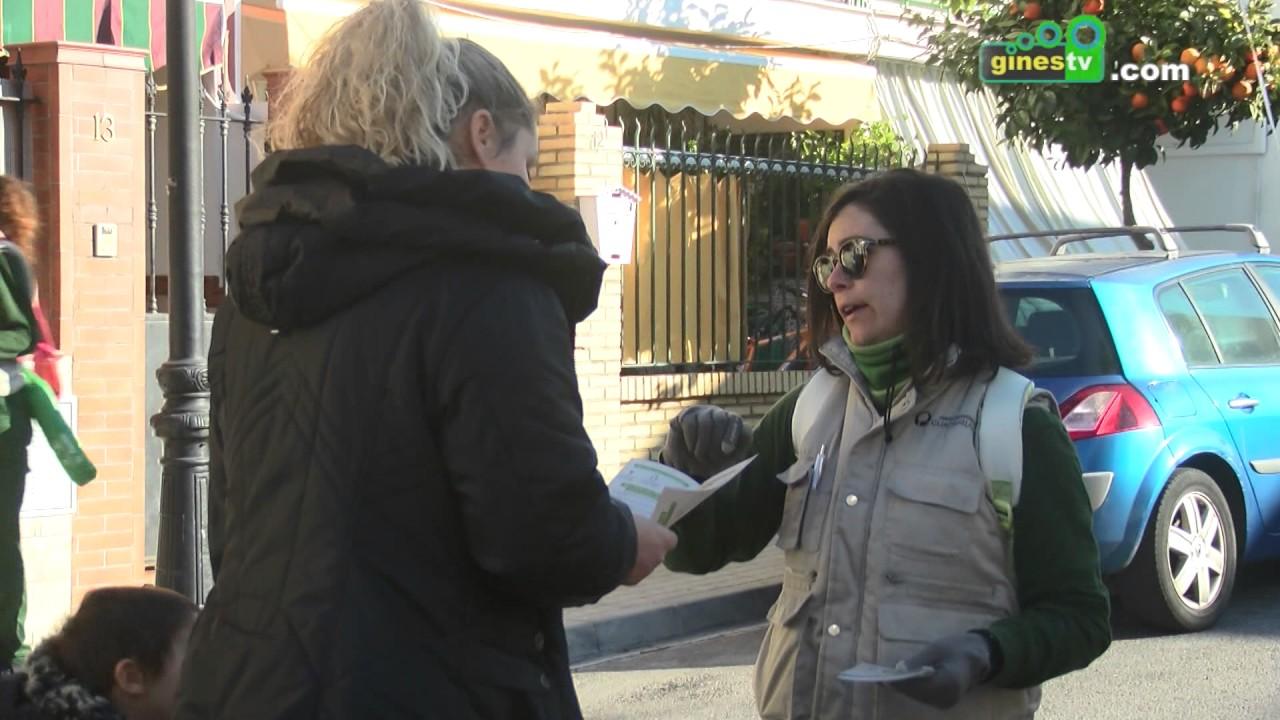 """La Mancomunidad del Guadalquivir desarrolla en Gines su campaña """"Ahora de toca a ti"""""""