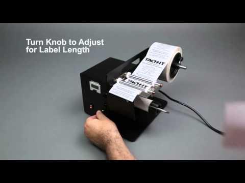 Tach-It KL-100 Semi-Automatic Label Dispenser
