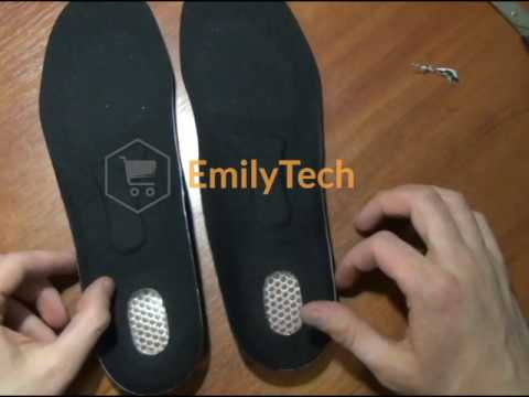 a0a6d868fa Arch Support Shoe Insoles Sport Comfort Shock Absorb Gel Heel - YouTube
