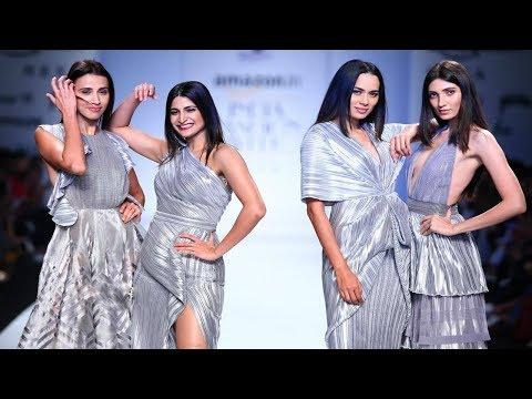 Aahana Kumra Walks For Nikhita Tandon | Spring/Summer 2018 | India Fashion Week