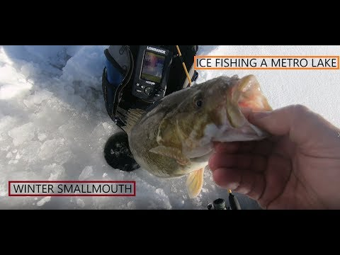 Ice Fishing At Chatfield State Park