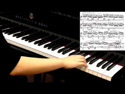 Piano masterclass - Chopin. Etude Op.25 No.11 'Winter Wind' - Advanced piano tutorial
