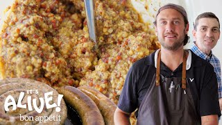 Download Brad Makes Mustard | It's Alive | Bon Appétit Mp3 and Videos