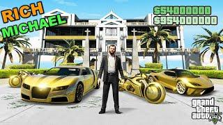 GTA 5 : MICHAEL RICH LIFE OF LOS SANTOS | GTA5 GAMEPLAY #98