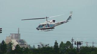 海上保安庁 Japan Coast Guard Bell 212 JA9930 TAKE-OFF TOYAMA Airport 富山空港 2013.6.23