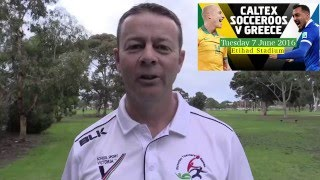 Football Federation Australia - Socceroos March