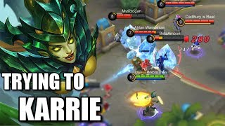 THE PRESSURE WHEN PLAYING KARRIE