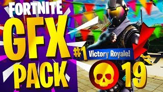 NEW FREE FORTNITE GFX PACK INCLUDES PNGs, IMAGES & MORE! - (Fortnite GFX Pack FREE PSD)