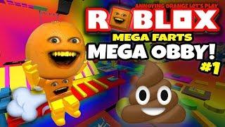 Roblox: MEGA OBBY! [Annoying Orange Plays]