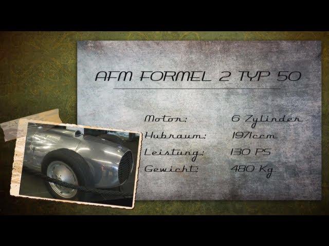AFM Formel 2 Typ 50 Oldtimer