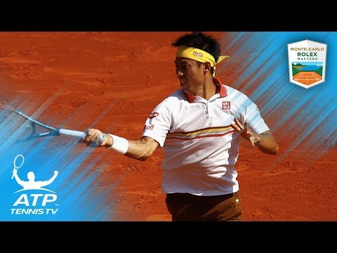 Kei Nishikori's best shots and rallies from 2018 Rolex Monte-Carlo Masters