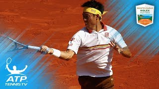 Kei Nishikori's best shots and rallies from 2018 Rolex Monte-Carlo Masters