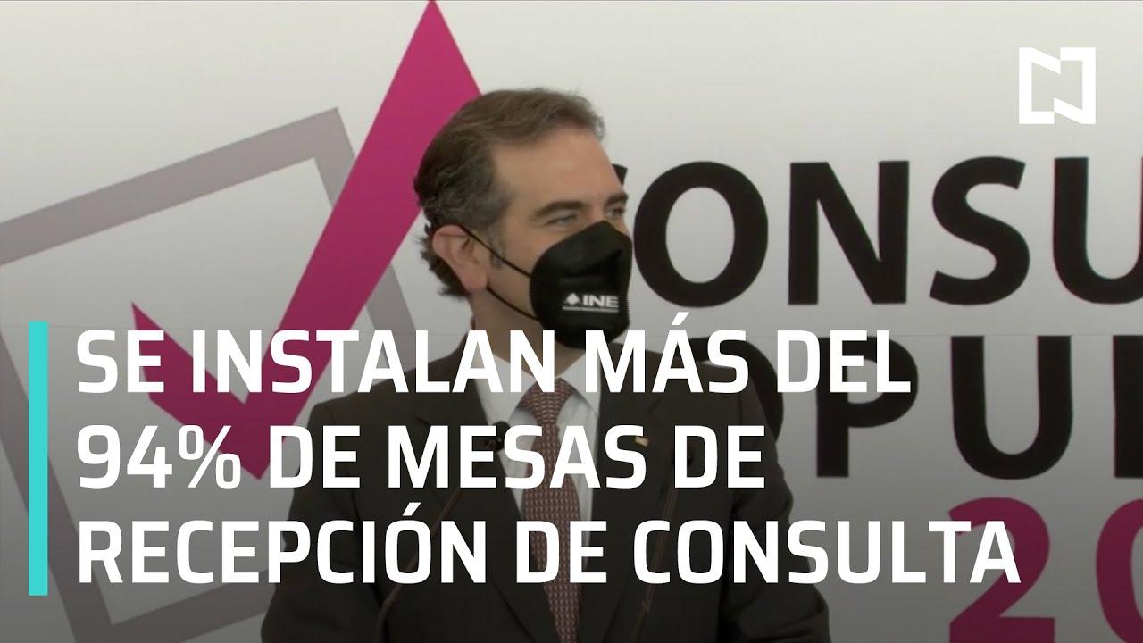 Se instalan más del 94% de mesas de recepción de Consulta Popular - Las Noticias
