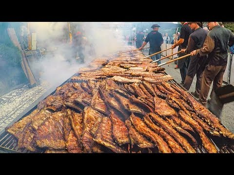 Best Of Huge Street Food Festival In Italy. Eight Iconic Italian Foods