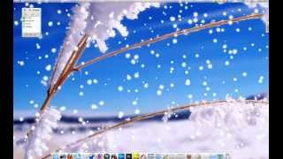 KWin эффект - Снег на рабочий стол