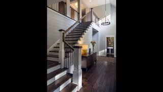 Unique Wood Stairs Ideas For Beautiful Home, Wooden Staircase Designs,Wood Stairs Design Ideas #4