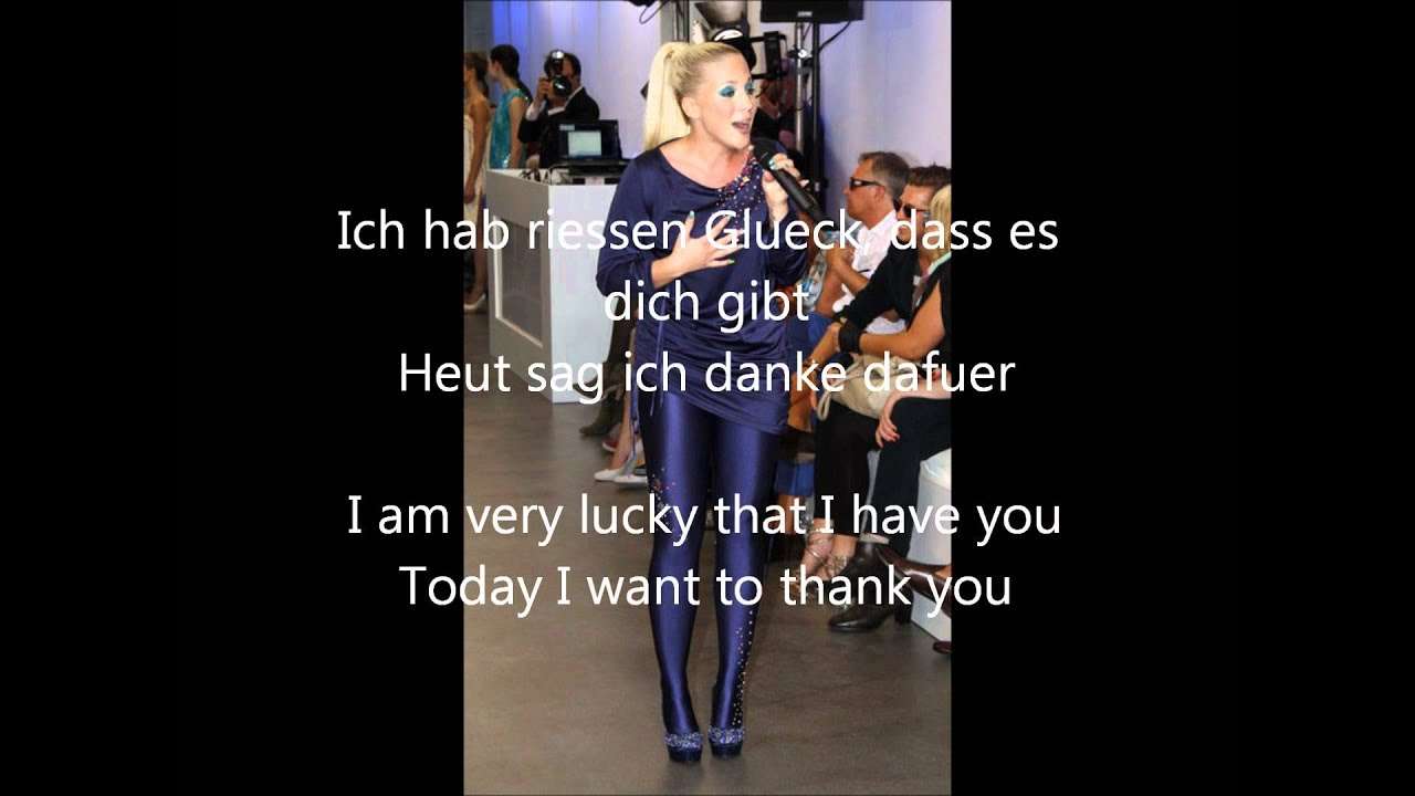 Dich text hab mama lieb Songtext: F