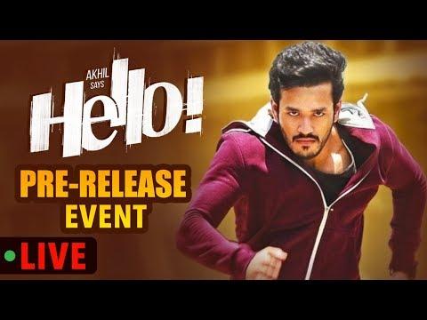 HELLO! Pre Release Event Live ||  Akhil Akkineni, Kalyani Priyadarshan II Annapurna Studios
