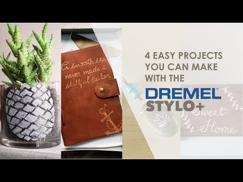 Make Your Own Craft Projects with the Dremel Stylo+ | DIY Project Inspiration