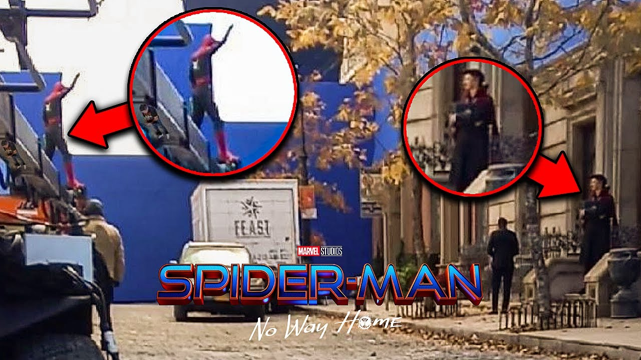 BREAKING: Spider-Man & Doctor Strange LEAKED Together For the First Time! - Spider-Man: No Way Home