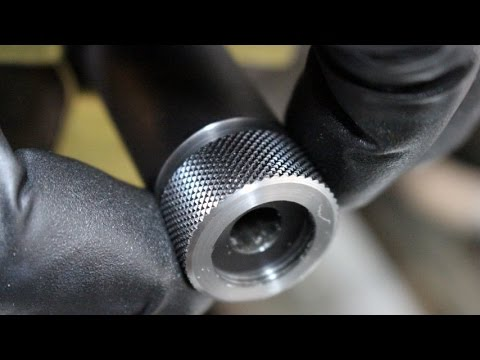 Threading a Barrel -Thread Protector Installation! Gunsmithing Remington